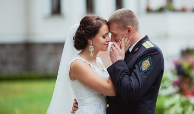 The wedding day: Kristina i Andrey